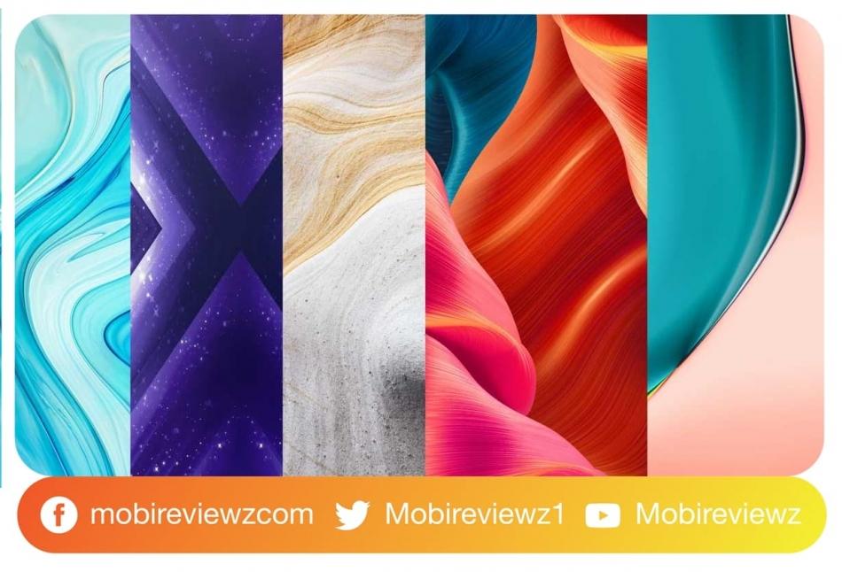 تحميل الخلفيات الرسمية لهاتف Realme X3 SuperZoom بجودة عالية