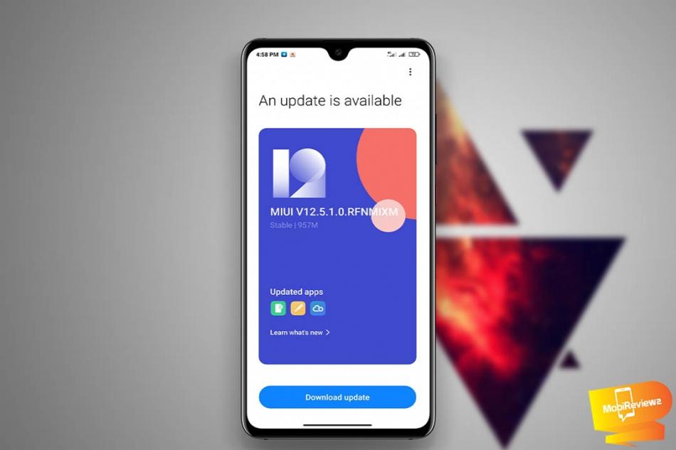 تحميل تحديث MIUI 12.5 الرسمي لهاتف Mi Note 10 Lite مع شرح التثبيت