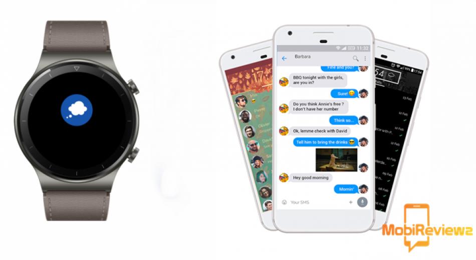 تطبيق جديد يتيح لساعة Huawei Watch GT 2 Pro الرد على الرسائل
