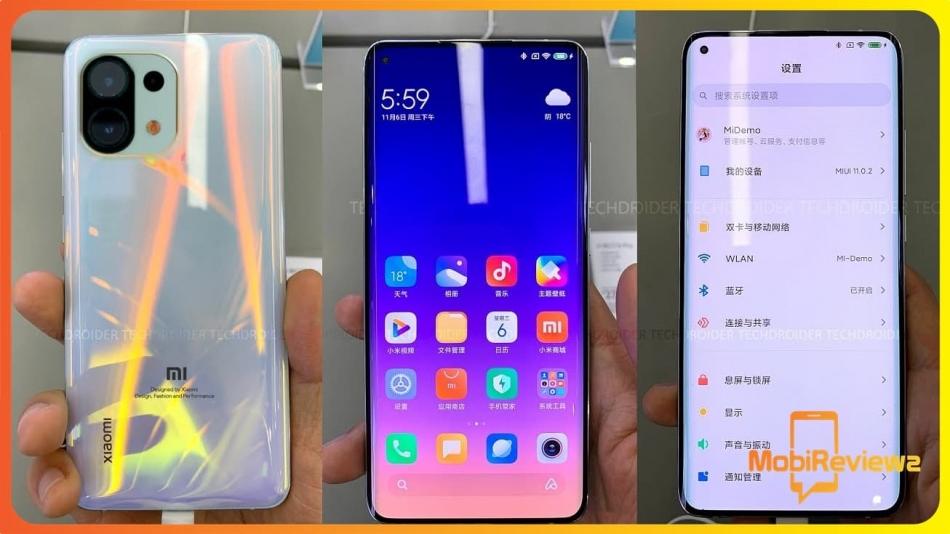 الكشف عن سعة البطارية والتصميم الخلفي لسلسلة Xiaomi Mi 11