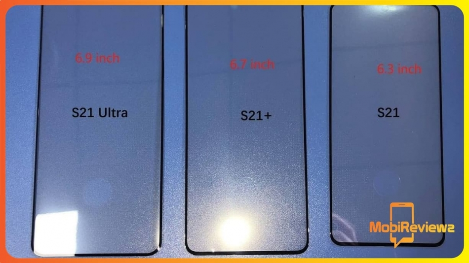 تسريب اللوحات الزجاجية لسلسلة Samsung Galaxy S21 والمزيد