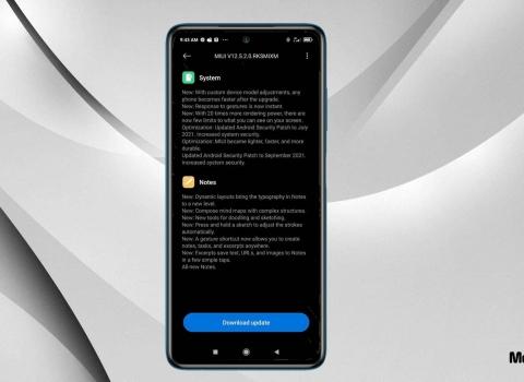 تحميل تحديث MIUI 12.5 الرسمي لهاتف Redmi Note 10 5G / POCO M3 Pro 5G مع شرح التثبيت
