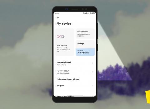 شرح تنزيل وتفليش OneOS 21.8.3 (اندرويد 11) لهاتف Redmi Note 5 [روم معدل غير رسمي]