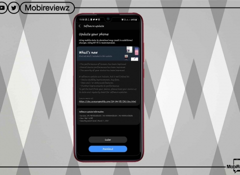 هاتف Samsung Galaxy M21 يبدأ في الحصول على تحديث One UI 3.1