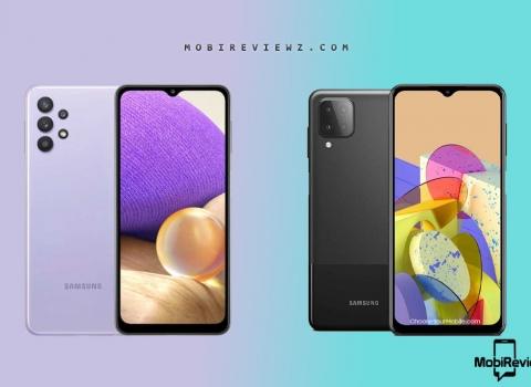 تحميل الخلفيات الرسمية لهاتفي Samsung Galaxy A32 و Galaxy M12 بدقة عالية