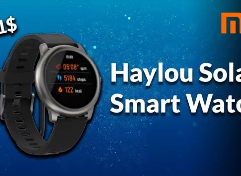 ساعة شاومي الذكية Heylou Solar تقدم قيمة كبيرة مقابل السعر