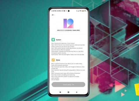 تحميل تحديث MIUI 12.5 الرسمي لهاتف شاومي POCO X3 NFC مع شرح التثبيت